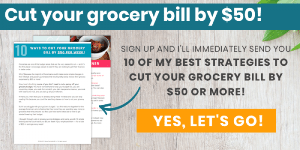 Cut your grocery bill!