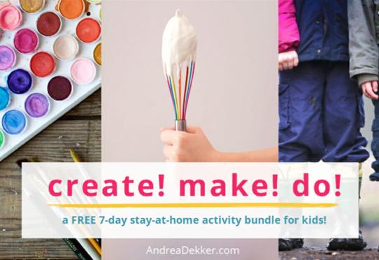Free Activity Bundle for Kids