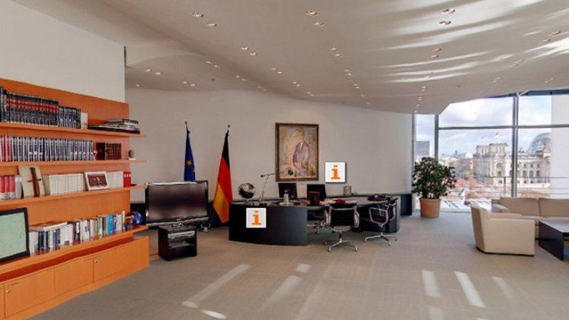 Kanzleramt ldt zum virtuellen Rundgang  Berlin Aktuell