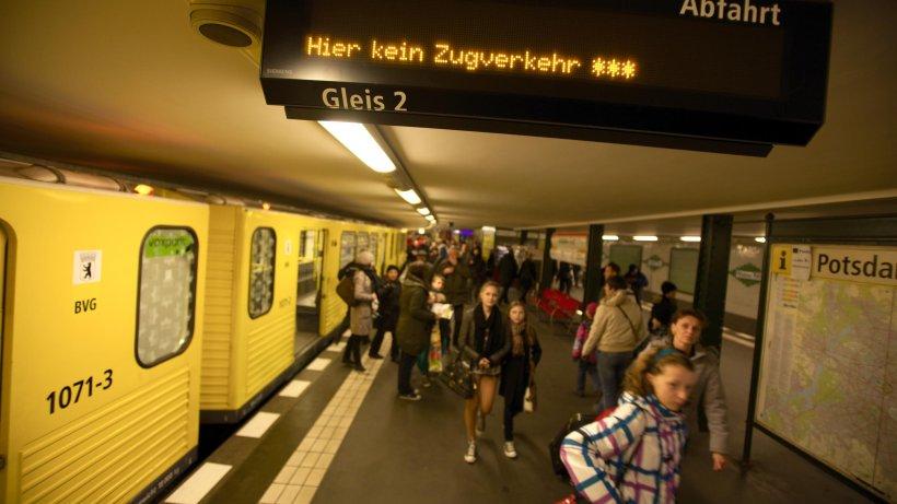 BVG Saniert Marode Tunnel Der Linie U2 Am Bahnhof Zoo