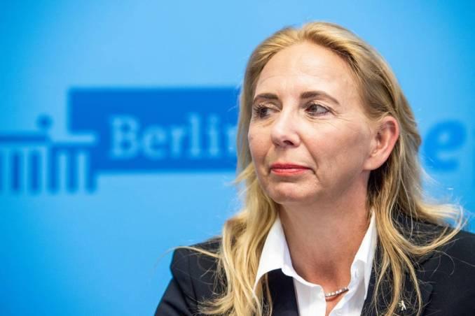Barbara Slowik ist Berlins neue Polizeipräsidentin - Berliner Morgenpost