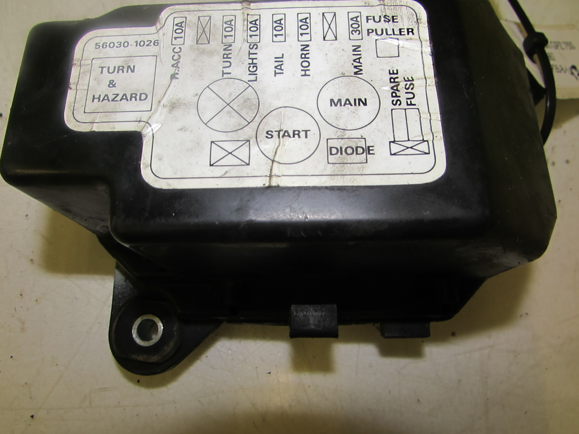 hight resolution of kawasaki 454 ltd fuse box