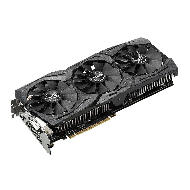 ≡ Видеокарта ASUS Radeon RX 480 8GB DDR5 Strix Gaming (STRIX-RX480-8G-GAMING) – купить в Киеве | цены и отзывы