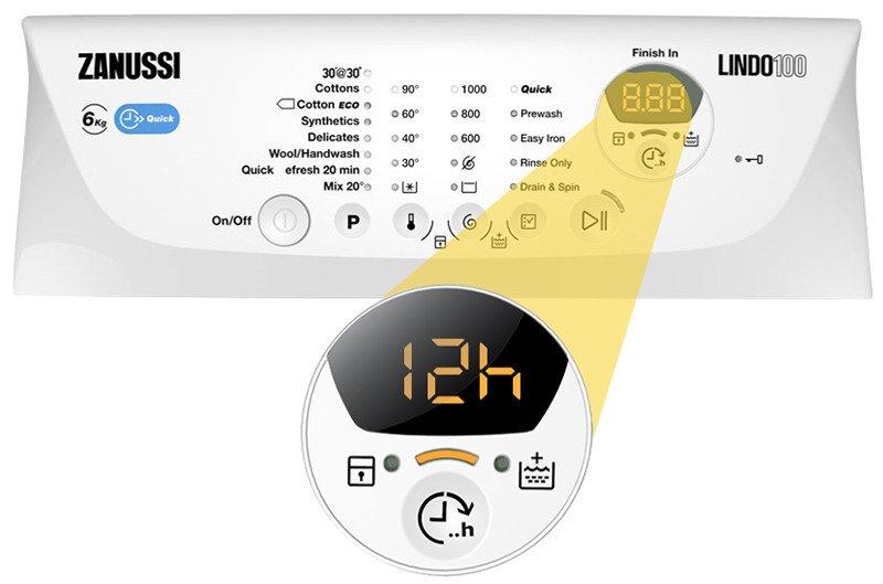 ≡ Стиральная машина Zanussi ZWQ61215WA – купить в Киеве | цены и отзывы