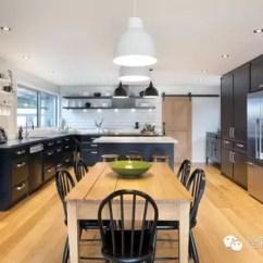 Farmhouse Kitchen Faucet Modern Round Table 这间乡村厨房获得了诠释国际设计奖 Tida 农舍厨房龙头