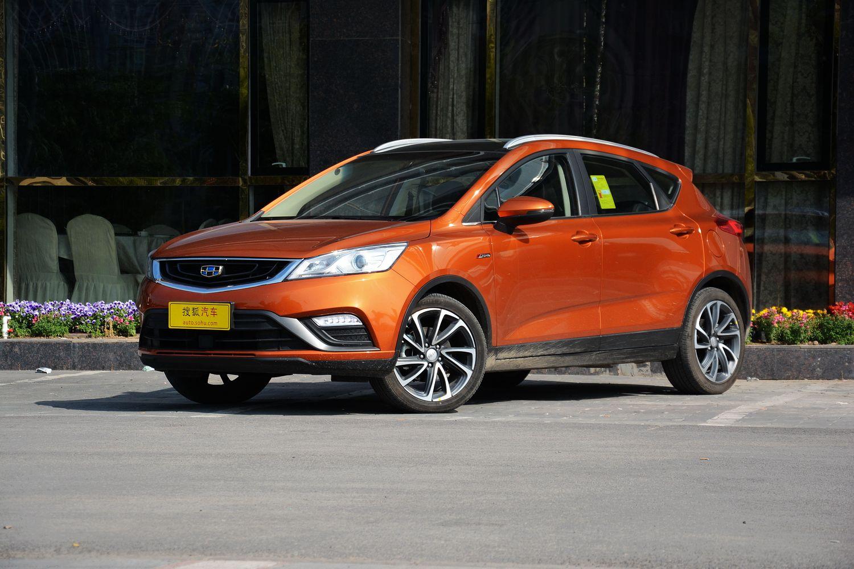 新車到店:吉利最新低價高配SUV帝豪GS 1.3T