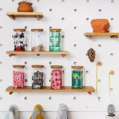 Kitchen Pegboard Parts Of A Faucet Peg Board洞洞墙 满屋的生活气息 反性冷淡宣言 Board的摆放设计 也能看得出主人家的品味和喜好