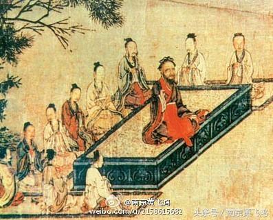 孔子弟子那么多,南京夫子廟學宮邊的塑像為何是他