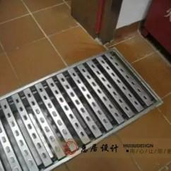 Kitchen Gutter Wire Rack 酒店厨房排水沟如何练就 看了就知道 厨房排水沟