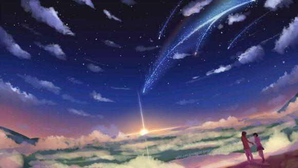 《你的名字。》高清圖片第一波夢幻場景美輪美奐 - 雪花新聞