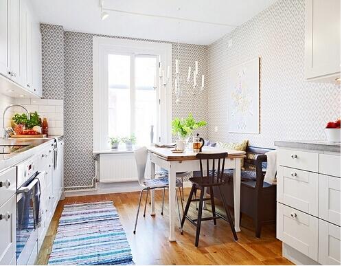 large kitchen rug best mats 厨房装修放地毯好不好 厨房放地毯的优点和缺点 厨房铺设地毯最大的弊端就在于清洁 尤其是如果你想覆盖整个厨房的地板 那么你将话大部分时间去清洁你的地毯 清洁地毯比瓷砖或混凝土更加困难 在厨房的地毯还会