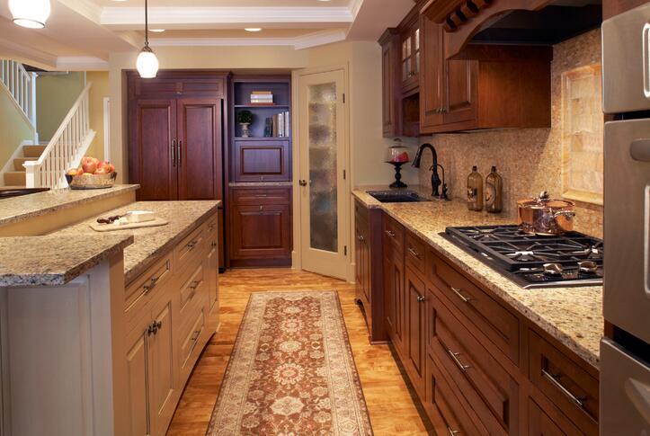 kitchen carpet cabinet design app 厨房装修放地毯好不好 厨房放地毯的优点和缺点 厨房地毯