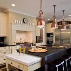 Metal Kitchen Table Sets Home Depot Remodel 厨房能这么高逼格 全靠这些金属吊灯 金属厨房餐桌