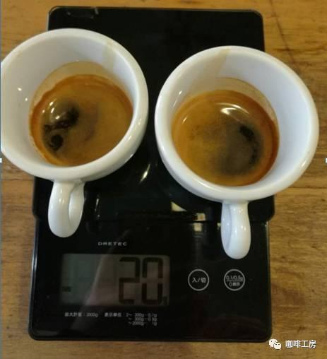 咖啡課堂:三組不同比例的espresso比例對比   咖啡工房