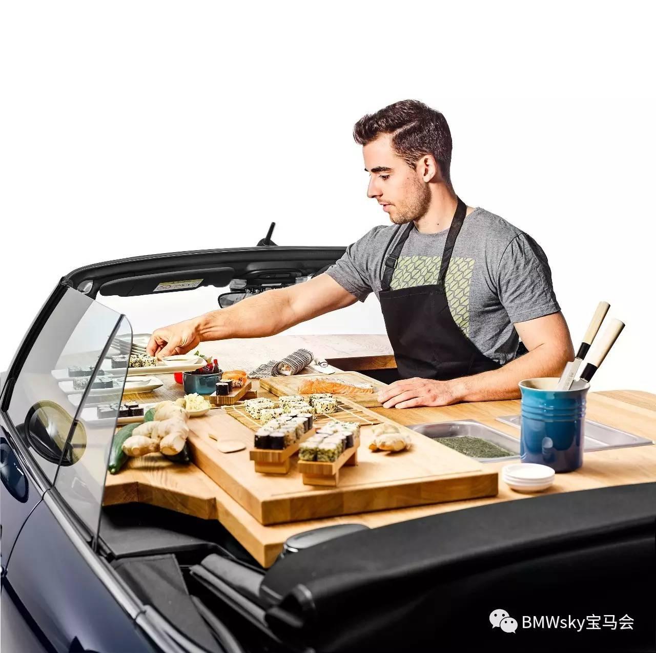 kitchen prep cart play accessories bmw推出 全新mini 移动厨房 搜狐汽车 搜狐网 mini商务创新部门负责人表示 街边食品能很好地补充普通餐厅的不足 顾客可以方便地看到实物准备的过程 购买也很方便 然而 传统食品货车太大太笨重