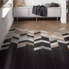 Tile Floors In Kitchen Build A 当木地板遇上瓷砖 安信给你惊艳时光的效果 社区 安信地板 在经常需要清洁的地方 如玄关位置 拼接瓷砖地板美观又方便家务