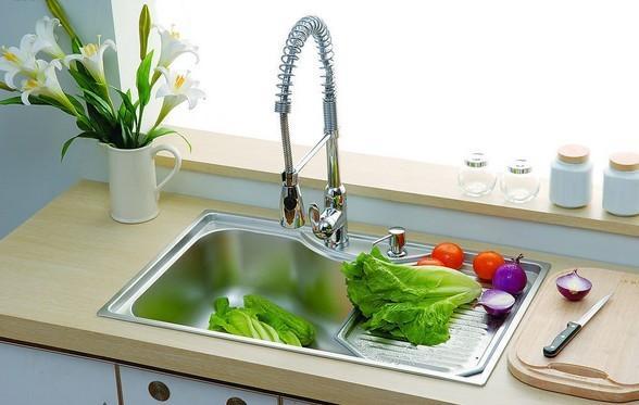 kitchen sink drain pipe antique faucets 厨房水槽堵了怎么办7个小妙招教你疏通排水管 厨房水槽排水管