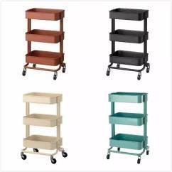 Small Kitchen Carts White Cabinets Lowes 这款小推车 居然全世界都爱 小羽本人当然也超爱逛宜家 每次去都能淘到些便宜的好东西 这不 今天我要向你们推荐一款宜家的小推车 Raskog Cart 英文名看起来有些陌生 但你一定见过它
