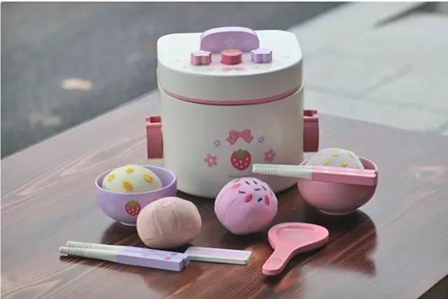 full kitchen set top faucets 儿童节送个美味小厨房 30款玩具 diy方案玩得欢 mother garden 野草莓木质电饭锅套装约150元