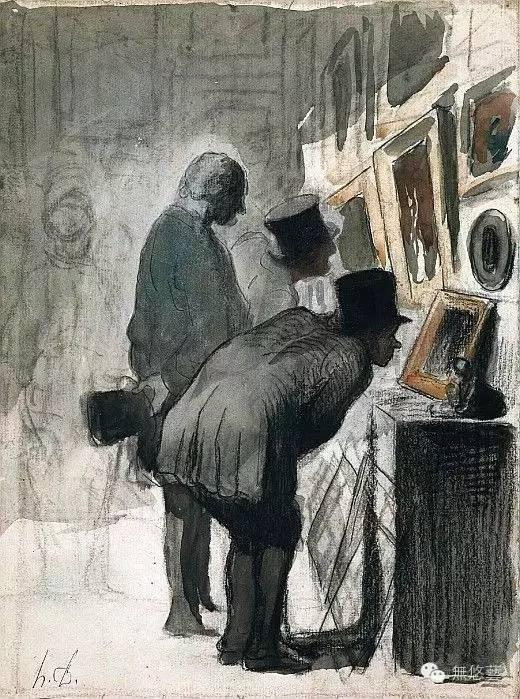 天才往往是孤獨的—法國畫家杜米埃