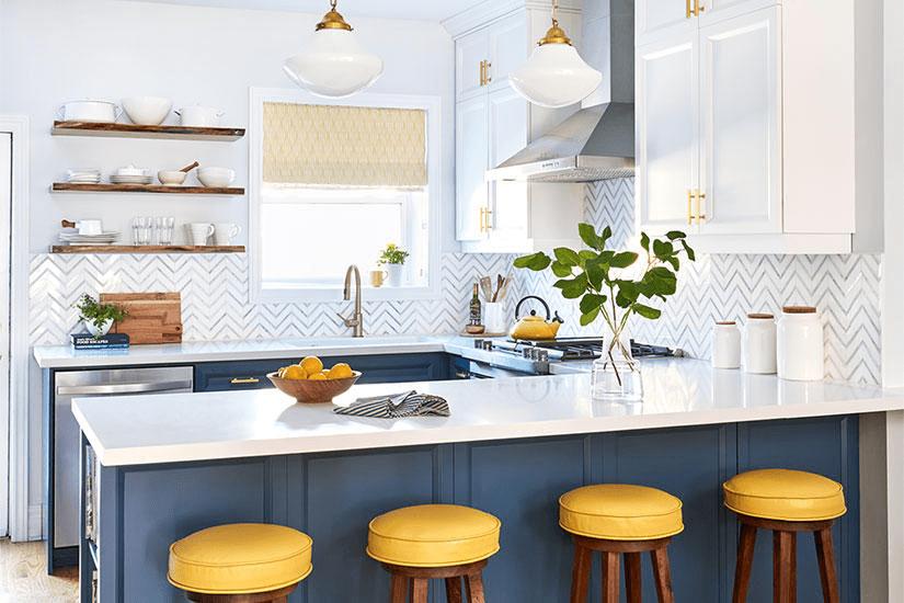 redesigning a kitchen build island 厨房里的那些设计 年轻的小酒馆风格厨房 重新设计一个厨房