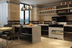 small kitchen plans remodeled kitchens 实用 小户型开放式厨房打造计划