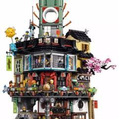 Ninja Ultra Kitchen System Laminate Flooring In 惊艳 乐高 幻影忍者 大电影终极套装70620细节图曝光 第一层是一个鱼市 包含房子 桥梁和渔船 第二次是一个现代的商业区 包含漫画书店 螃蟹餐厅 内含烤螃蟹厨房和自动取款机 套装共包含了16个形形色色的人仔