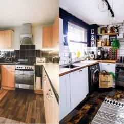 Remodeling Kitchen On A Budget Sinks Stainless 改造完还 又黑又破 为了省预算全程diy的妞 让人佩服又心疼 在预算上改造厨房