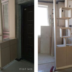Best Kitchen Paint Exhaust Hood 先刷墙还是先做衣柜 看完不纠结 先刮腻子和墙漆 可以修正水泥墙面的一些不平整 2 3mm 因为柜子都是横平竖直的 一点点不平整能很容易看出来 后期再刮腻子 先要填补这里的缝隙 如果师傅手艺不