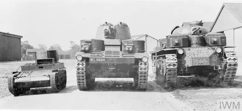 """多炮塔神教圣物 英國維克斯A1E1""""獨立""""號坦克"""