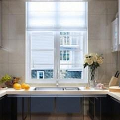 Kitchen Windows Island Seats 6 怎么办 厨房窗户那么小 要怎么装修啊