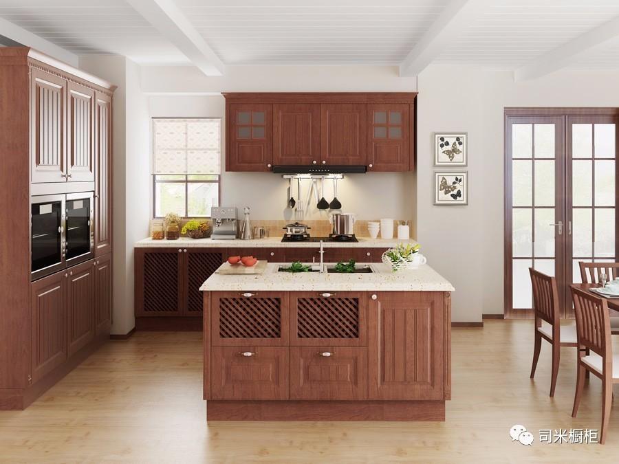 kitchen center islands blue cabinets 厨房中岛台魅力设计 感受浪漫的烹饪氛围 中岛式厨房对于喜爱在家做饭的宝宝来说是一个非常好的选择 虽说中岛式厨房对于厨房面积有很大的要求