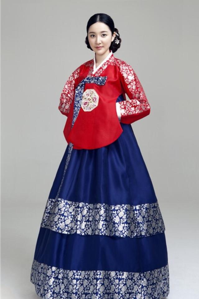 科普一下:明制襖裙與韓服赤古里裙異同點