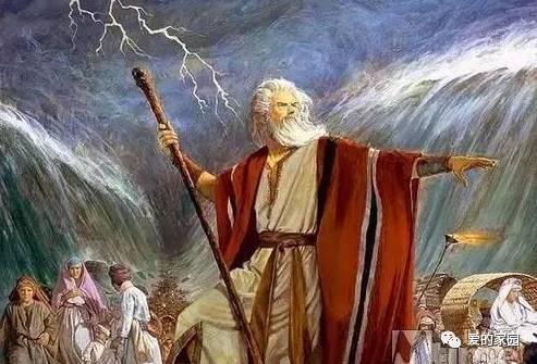 摩西過紅海什么意思圖片