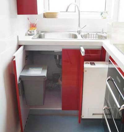 kitchen trash bin quartz countertops 为啥说厨房垃圾桶反人类 4种厨房垃圾桶大pk 大家可以参考宜家厨房的垃圾桶设计 就是隐藏式设计 唯一可能存在的缺点是 有可能把垃圾掉进橱柜里 收拾起来貌似有些费事
