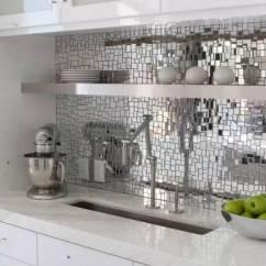 Mosaic Backsplash Kitchen Small Island 灵感 18个惊人华丽的马赛克厨房后挡板设计 抽象创作