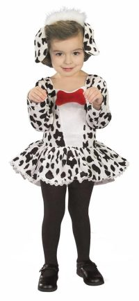 Girls Cute Dalmation Dog Toddler Costume - Mr. Costumes