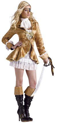 Treasure Chest Pirate Adult Costume - Mr. Costumes