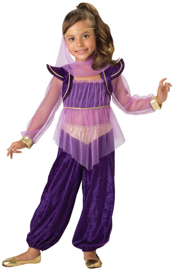 Girls Dreamy Genie Kids Costume - . Costumes