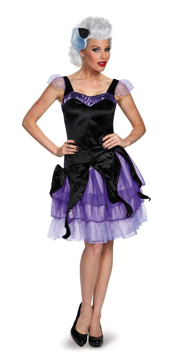 Ursula Deluxe Little Mermaid Adult Costume - . Costumes