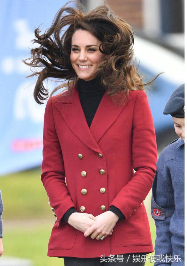 寒冬裡,懷孕的凱特王妃露長腿穿高跟,笑容甜美散發王室魅力 - M頭條