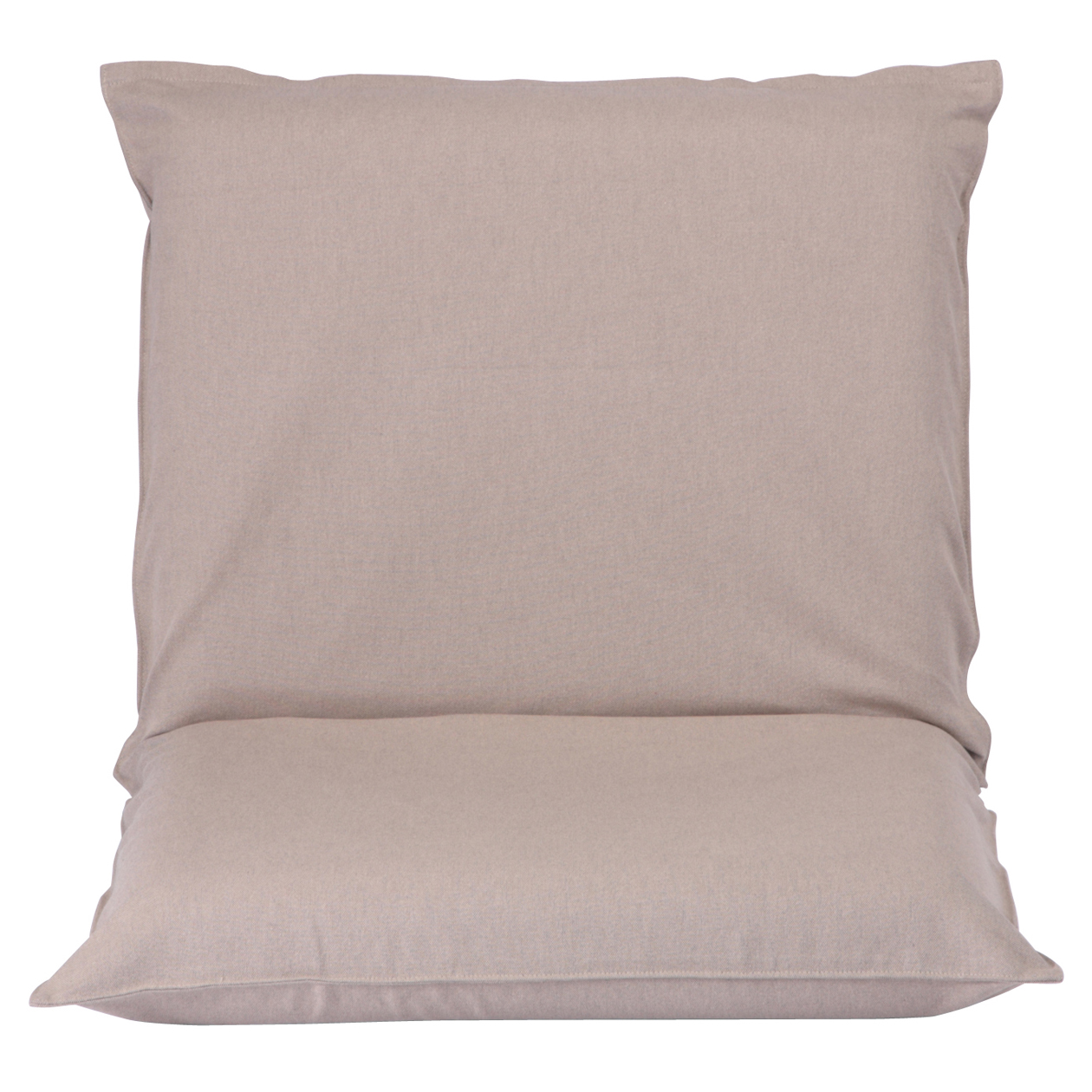 floor chair with back support philippines cream dining cotton cover for l be w57 d102 h10cm muji