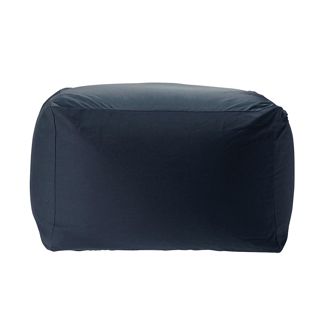 navy sofa cover buchannan microfiber assembly beads w65 d65 h43cm muji