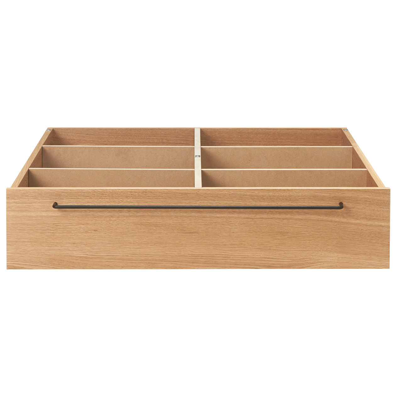BED FRAME / UNDERBED STORAGE / L / OAK W80*D90.5*H19cm