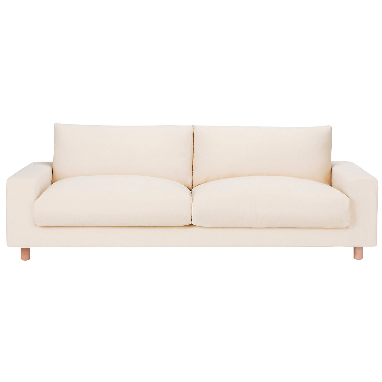 down feather sofa how to clean non removable covers 3s cushion w220 d88 5 h79 5cm muji