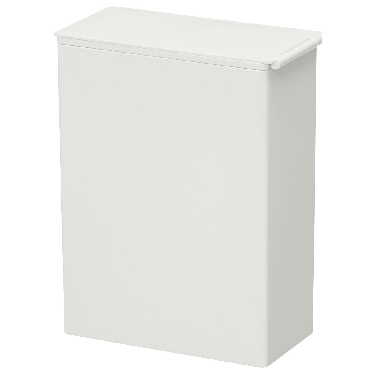 PP垃圾桶/方型/附框架/小/約3L 約寬10×深19.5×高20cm | 無印良品