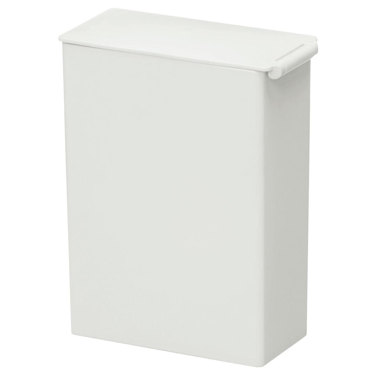 PP垃圾桶/方型/迷你/約0.9L 約寬7×深13.5×高14cm | 無印良品