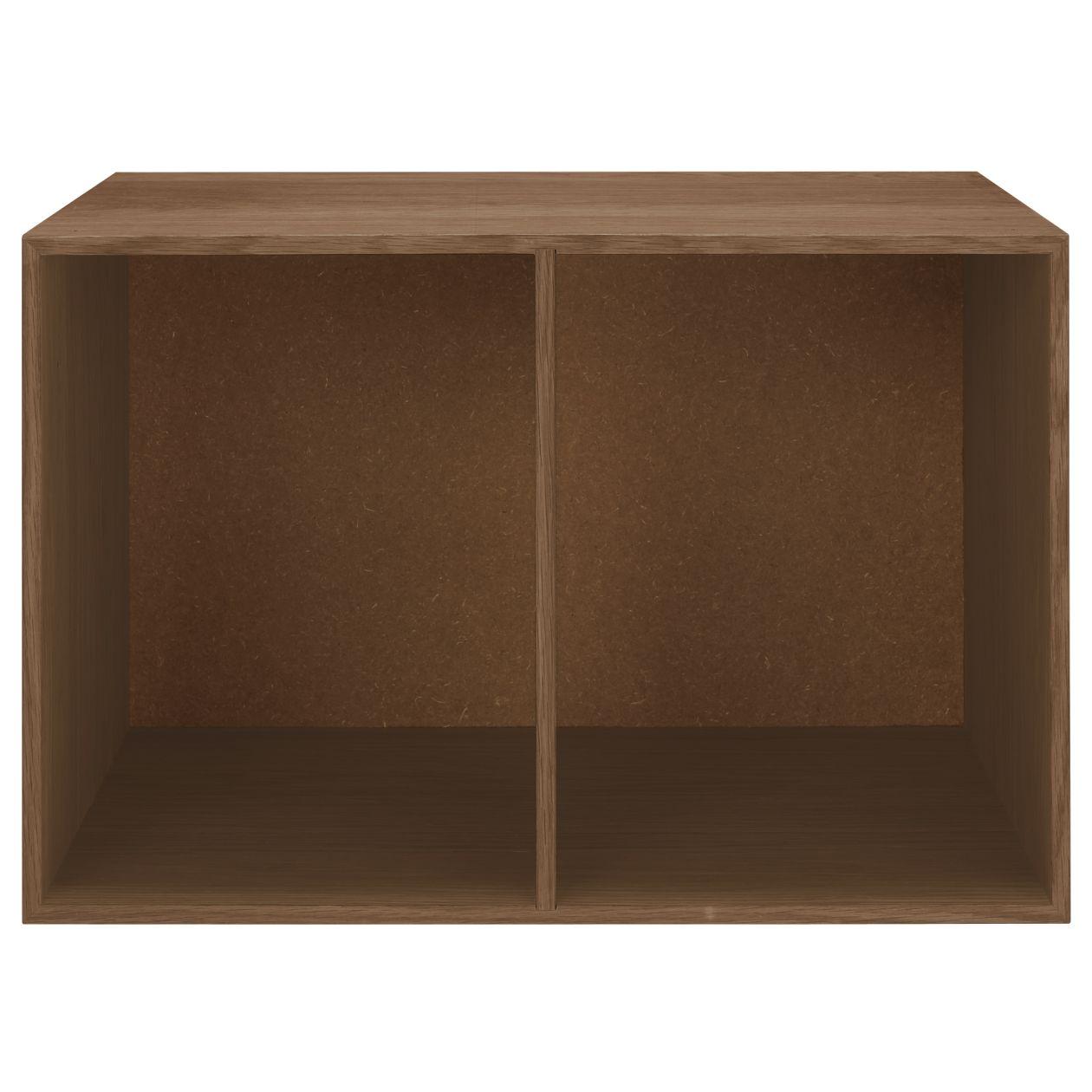 木製收納櫃/開放/寬/胡桃木 約寬52x深37x高34.5cm   無印良品