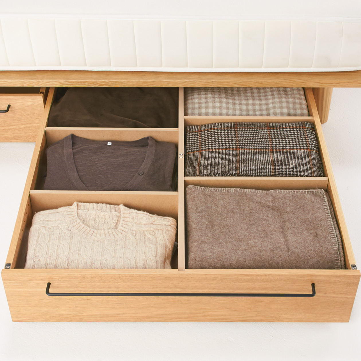 橡木床架用儲物地櫃 - 大   無印良品 MUJI