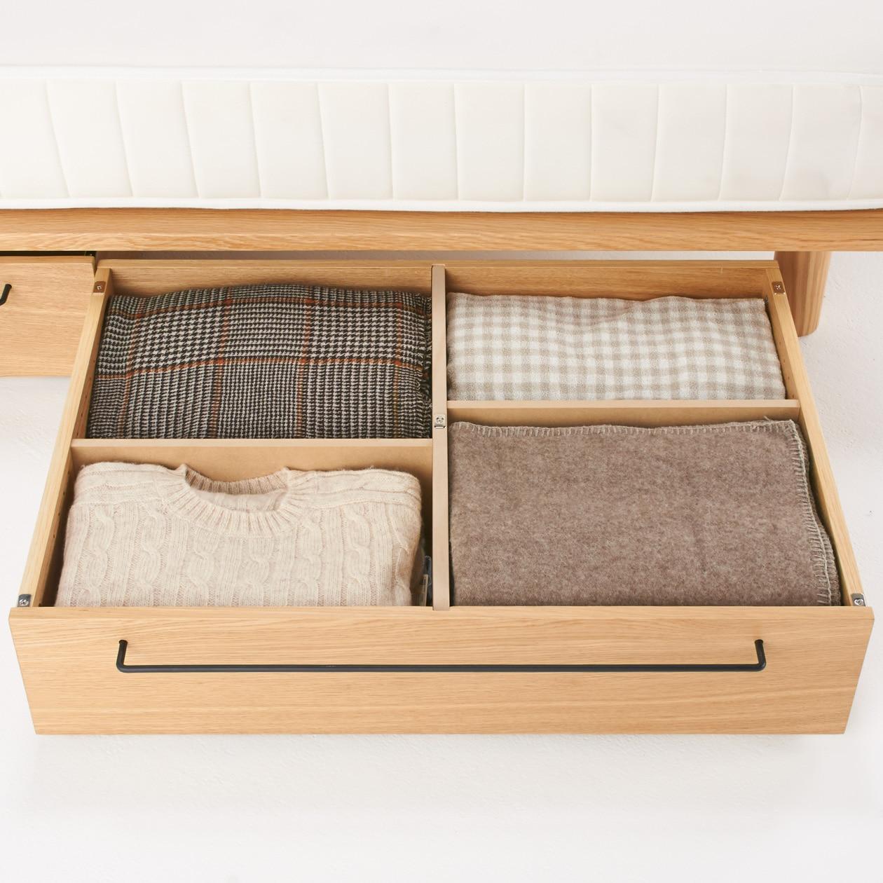 橡木床架用儲物地櫃 - 小   無印良品 MUJI